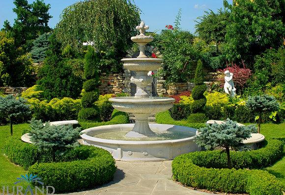 Hausgartenprofi Springbrunnen Fontäne Zierbrunnen Garten 1001 Deko