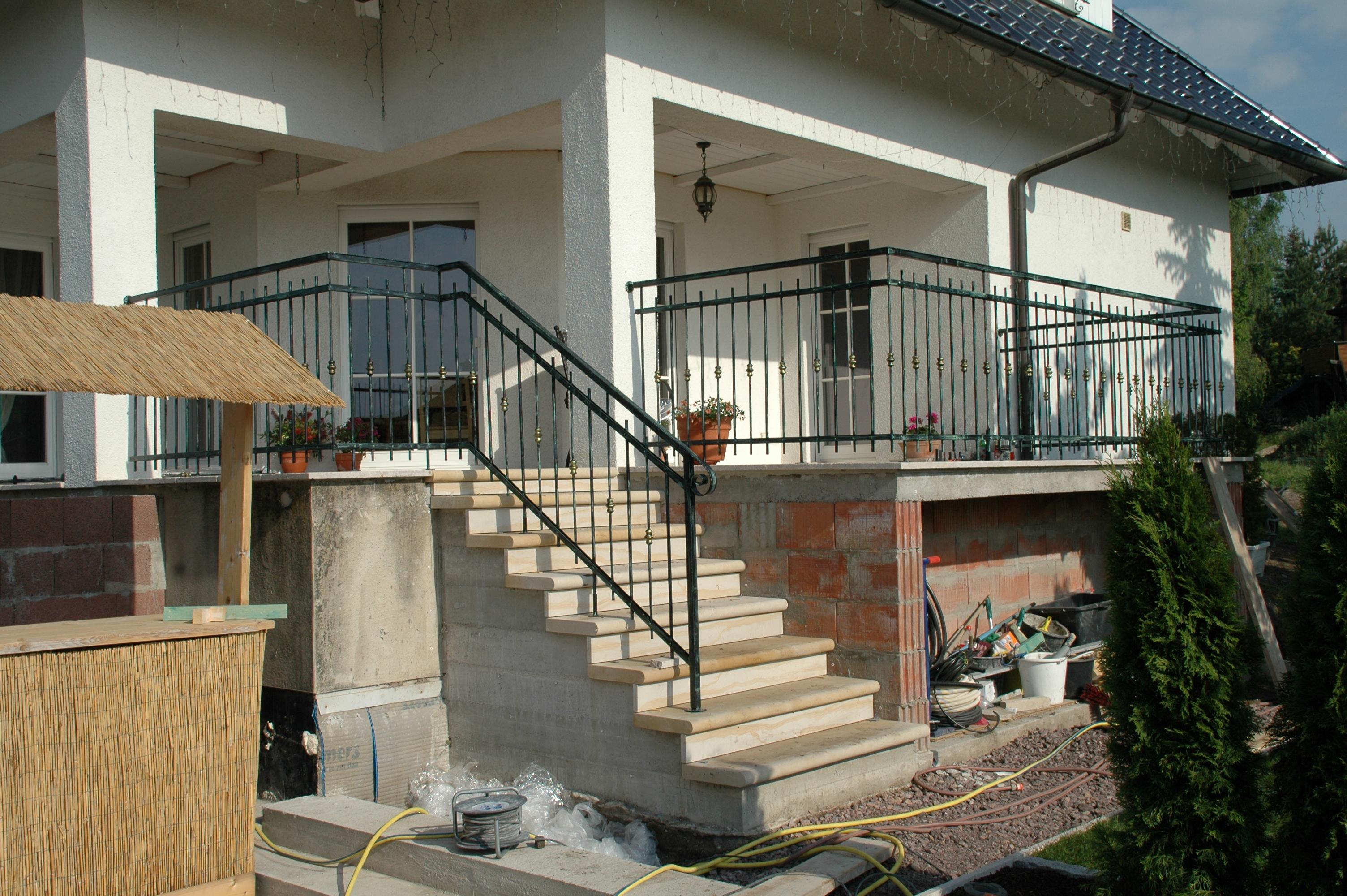 außengeländer treppe