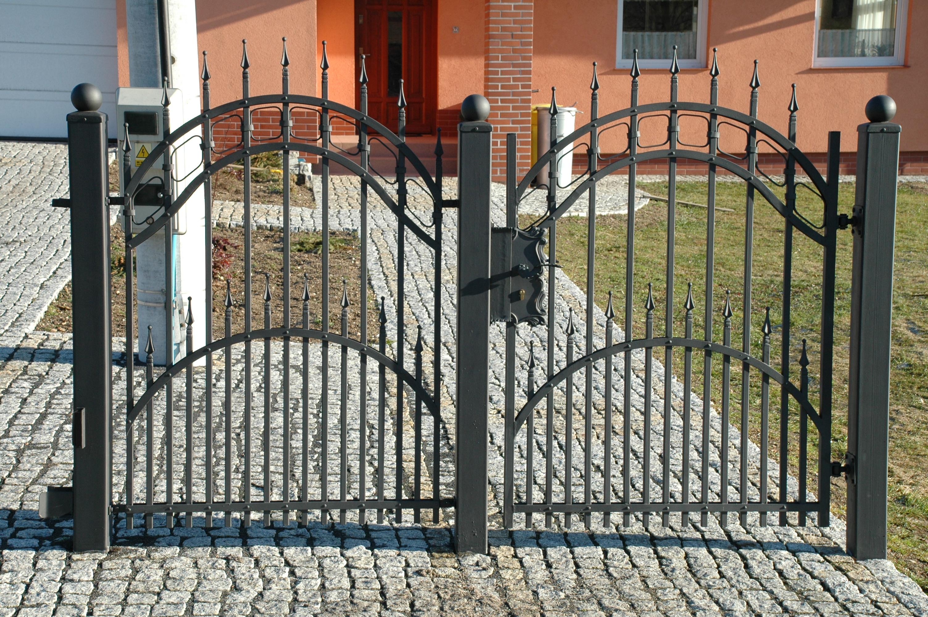 Hausgartenprofi Pforte Garten Haus Klassischer Zaun Tuer