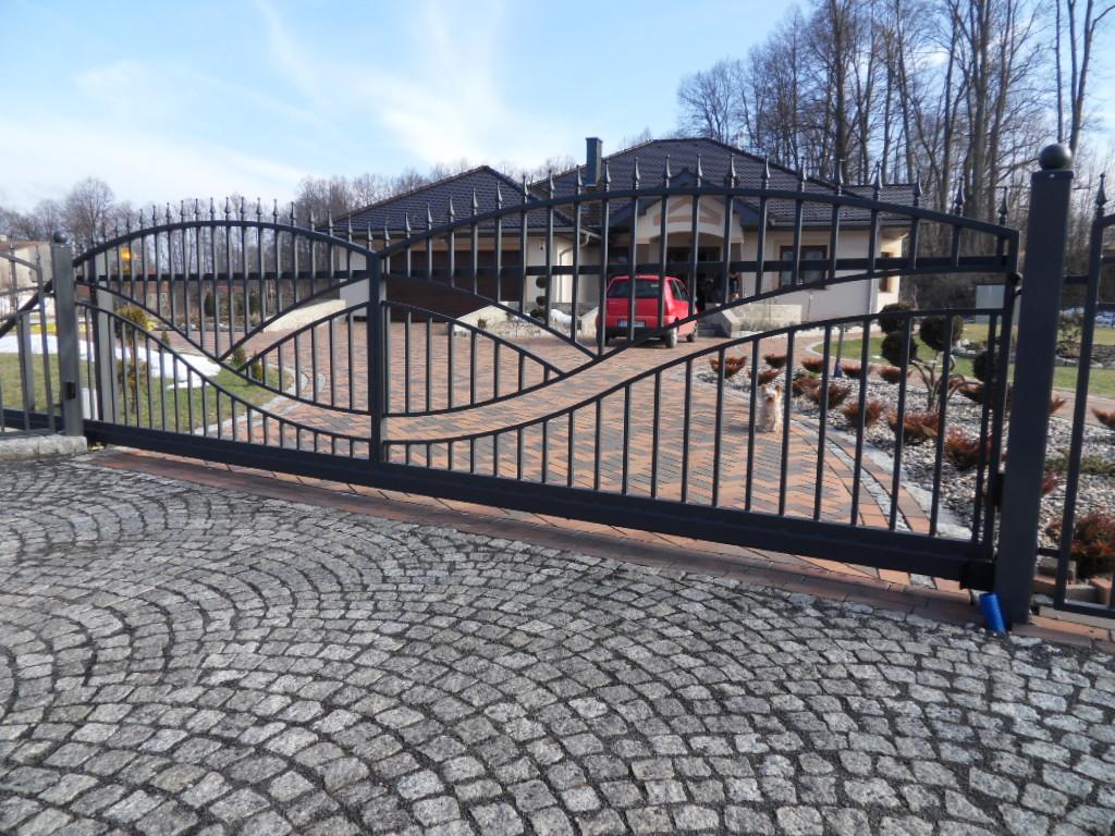 Hausgartenprofi Schiebetor Tor Modern Elektro Tore Einfahrt